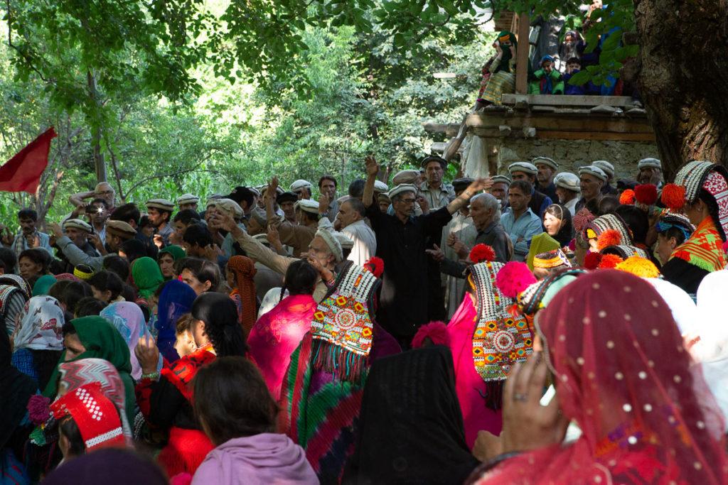 Kalasha funereal dance