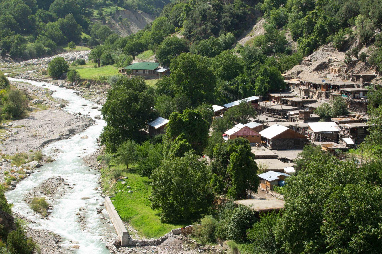 Kalasha village
