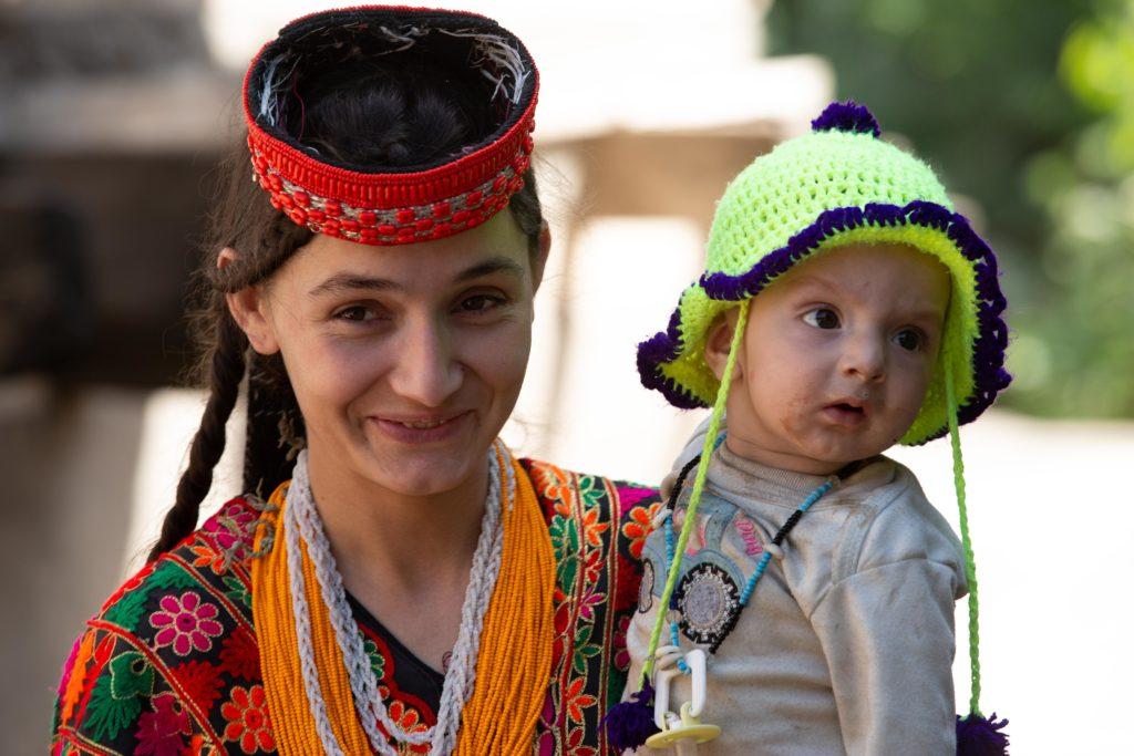 Kalasha mother and baby